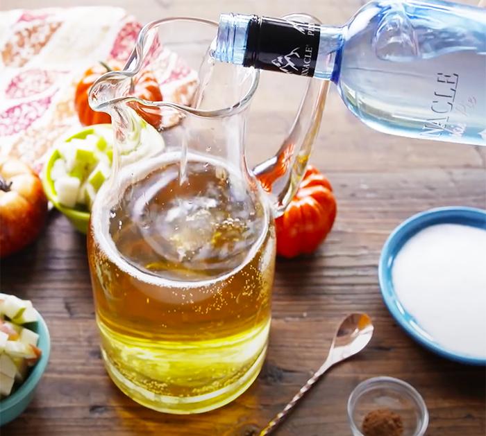 Use Pumpkin Pie Vodka To Make Sangria - Pumpkin Pie Sangria Recipe