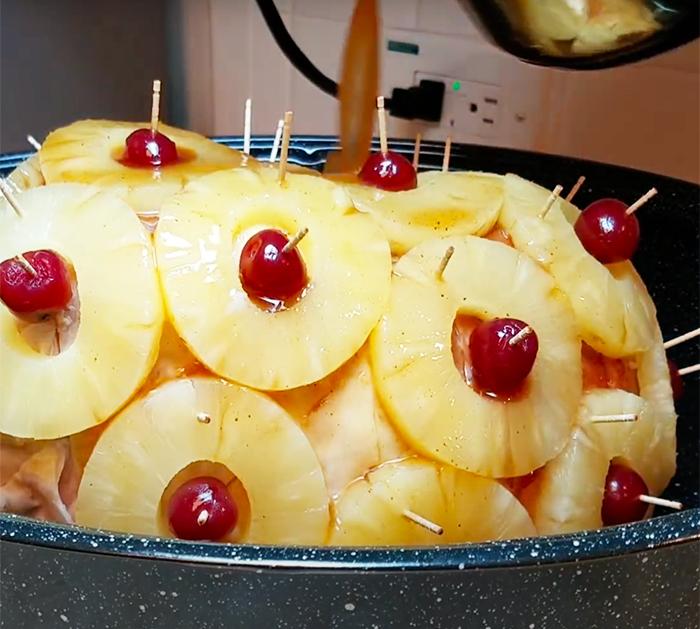 Honey Glaze Ham Recipe - Sweet Honey Glaze Recipe - Ham Recipes