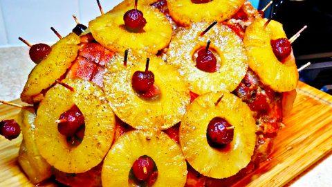 Pineapple Ham Recipe   DIY Joy Projects and Crafts Ideas