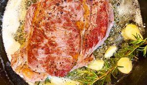 Butter-Basted Steak Recipe