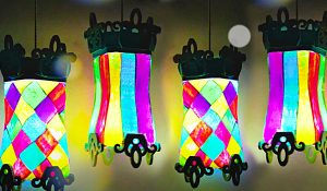 Turn Glass Jars Into Carnival Lanterns