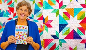 Confetti Star Quilt With Jenny Doan