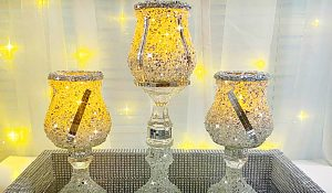Dollar Tree $2 Glam Candle Holders