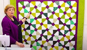 English Garden Quilt With Jenny Doan