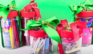 Last-Minute Dollar Store $5 Gift Jar Idea