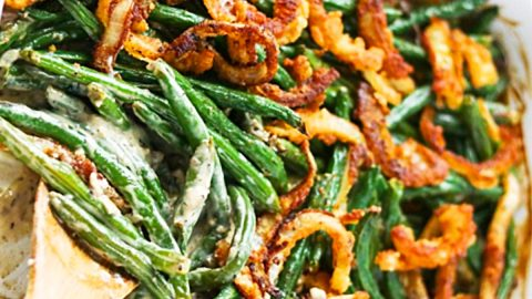 Green Bean And Caramelized Onion Casserole | DIY Joy Projects and Crafts Ideas