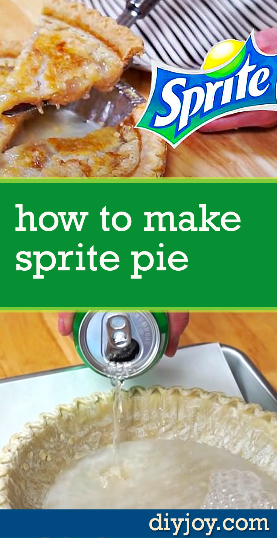 How To Make A Sprite Pie - Recipe and Video