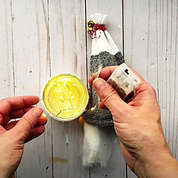 Fairy Light DIY - Dollar Tree DIY Ideas - Christmas Decor Ideas