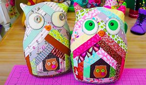 How To Make A Patchwork Owl With Free Pattern