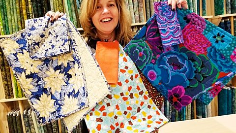Quilted Placemats And Napkins With Donna Jordan | DIY Joy Projects and Crafts Ideas