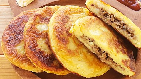 Beef-Stuffed Potato Pancakes Recipe | DIY Joy Projects and Crafts Ideas