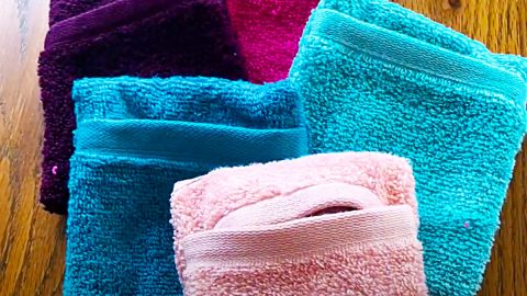 How To Make A Soap Saving Washcloth Pouch | DIY Joy Projects and Crafts Ideas