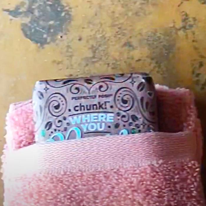 Soap Saving Ideas - DIY Soap Bag - Bathroom Decor