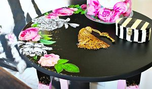 Victorian Gothic Table Makeover