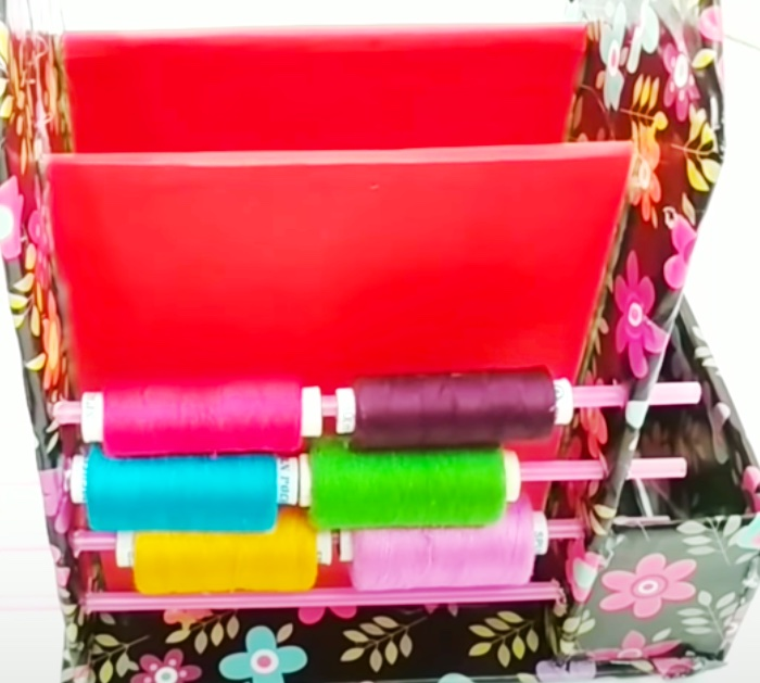Sewing Organizer - DIY Organizer Ideas - Sewing Caddy Ideas