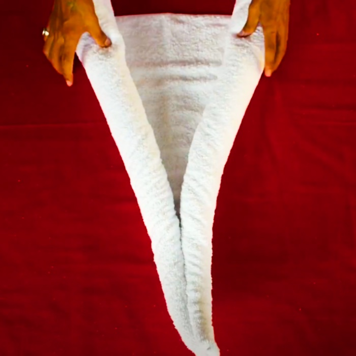 Swan Towel Idea - How To make An Animal From A Towel - Towel Creations