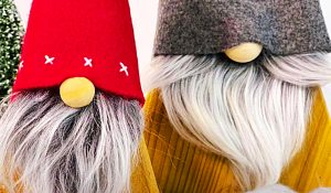 How To Make DIY Christmas Gnomes