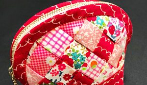 How To Make A Zipper Basket Weave Quilted Pouch