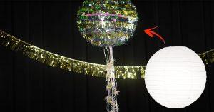 DIY New Years Eve Confetti Piñata