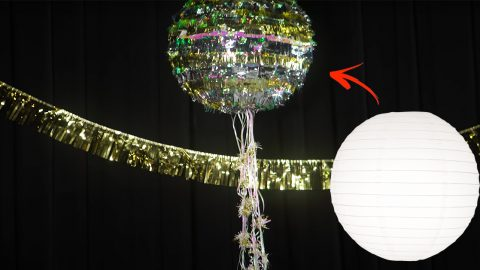 DIY New Years Eve Confetti Piñata | DIY Joy Projects and Crafts Ideas