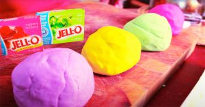How To Make Playdoh With Jello