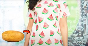 How To Paint A Watermelon Print From Potato