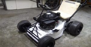 How To Make A GoKart With A LawnMower