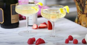 NYE Champagne Cocktail Recipe