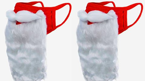 How To Make A Santa Face Mask | DIY Joy Projects and Crafts Ideas