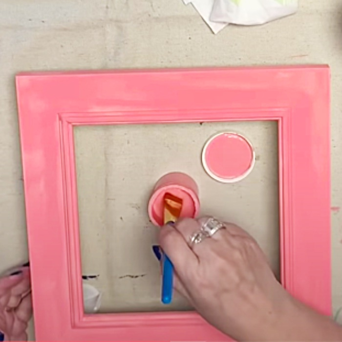 Paint Small Objects With Chalk Paint - Chalk Paint tutorial - How To Make Chalk Paint Art