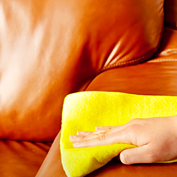 Leather Sofa Cleaning - How To Use Vinegar For Cleaning - Keeping A Leather Sofa New Looking
