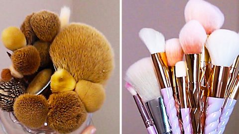 How To Clean Makeup Brushes At Home | DIY Joy Projects and Crafts Ideas