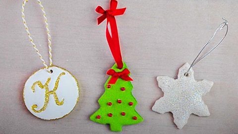 How To Make Salt Dough Ornaments | DIY Joy Projects and Crafts Ideas