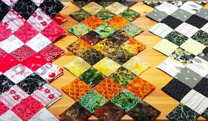 Jagged Edge Table Runner With Donna Jordan