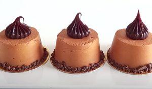 3-Ingredient Mini Mousse Cakes Recipe