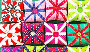 How To Make Mini Quilt Block Pincushions