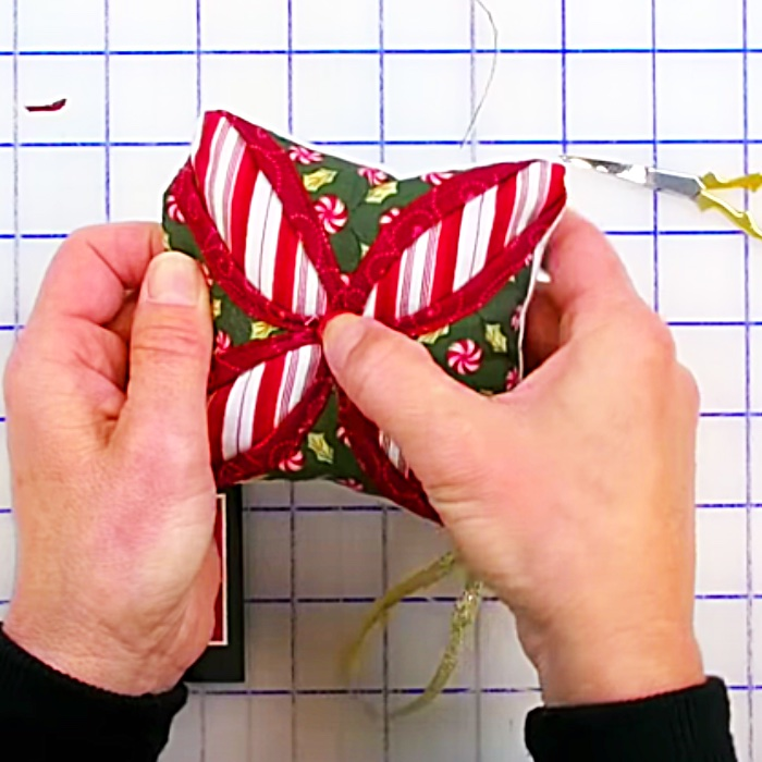 Pillow Ornament Idea - Quilt Ornament - DIY Christmas Tree Ornament