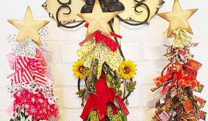 Dollar Tree DIY Rag Christmas Tree