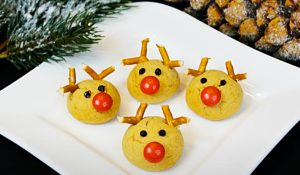 Rudolf The Red-Nosed Reindeer Cookie Recipe