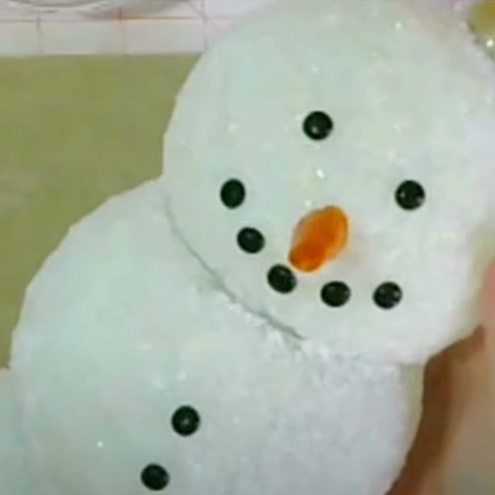 How To Make An Epsom Salts Glass Ball Lighted Snowman - DIY Christmas Crafts - Dollar Tree Holiday DIY