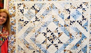 5-Star Quilt With Free Pattern