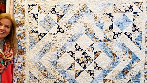 5-Star Quilt With Free Pattern | DIY Joy Projects and Crafts Ideas