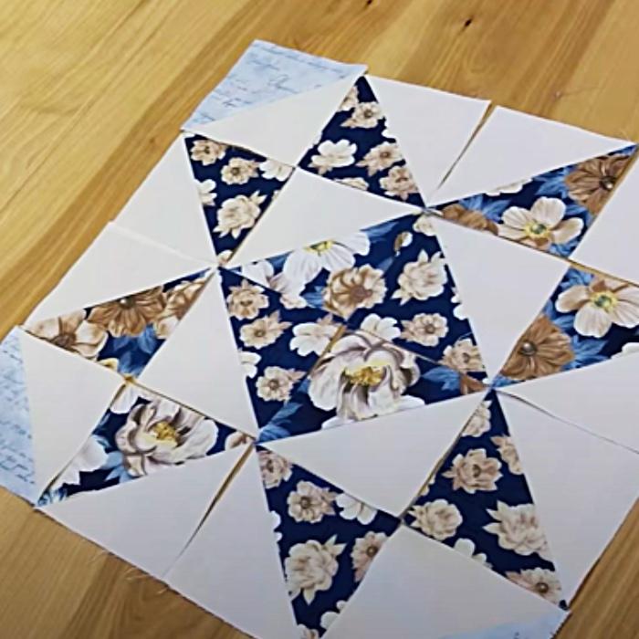 How o Make A Five Star Quilt - Free Quilt Pattern - Donna Jordan Quilt Design