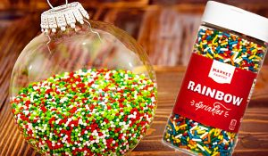 How To Make Sprinkle Ornaments