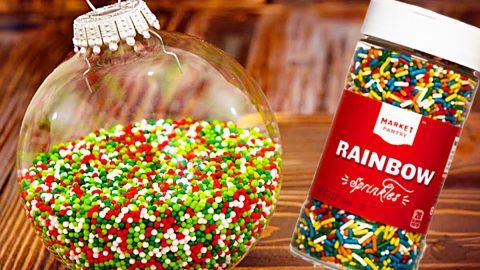 How To Make Sprinkle Ornaments | DIY Joy Projects and Crafts Ideas