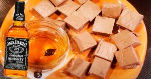 3-Ingredient Jack Daniel's Fudge Recipe