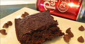 5-Ingredient Dr. Pepper Brownies Recipe