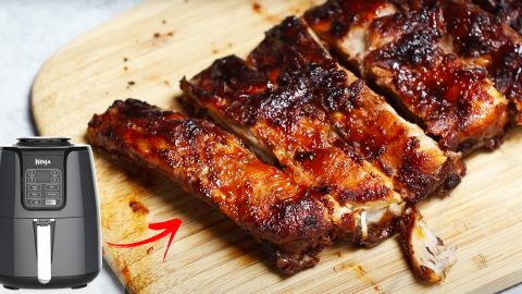 Air Fryer Ribs Recipe   DIY Joy Projects and Crafts Ideas