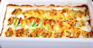 Baked Zucchini Potato Gratin Recipe