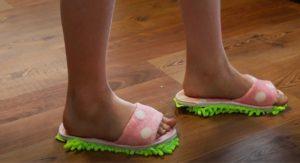 Dollar Tree DIY Mop Slippers